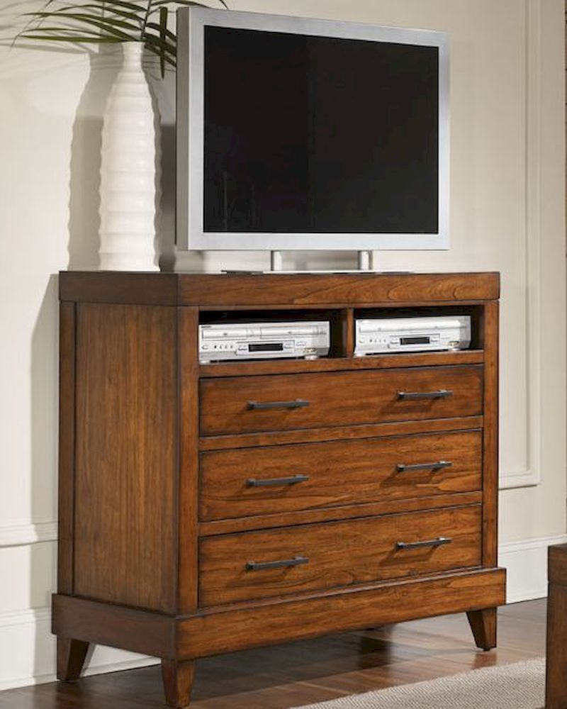 Aspenhome Furniture Liv360 Entertainment Chest Tamarind