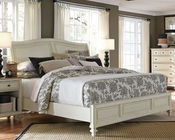 Aspenhome Furniture Sleigh Bed Cottonwood ASI67-400-4BED