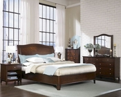 Aspenhome Furniture Sleigh Bedroom Lincoln Park ASI82-400Set