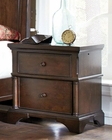 Aspenhome Liv360 Two Drawer Nightstand Bancroft ASI08-450