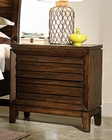 Aspenhome Liv360 Two Drawer Nightstand Walnut Park ASI05-450