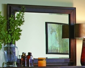 Aspenhome Mirror w/ Leather Trim Bancroft ASI08-464