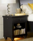 *Aspenhome Night Stand Cambridge in Black ASICB-550-BLK