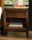 Aspenhome One Drawer Nightstand Walnut Park ASI05-451