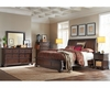 Aspenhome Sleigh Bed Bancroft ASI08-400BED