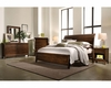 Aspenhome Sleigh Bed Walnut Park ASI05-400BED