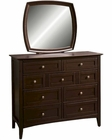 *Aspenhome Youth Chesser and Mirror Kensington ASIKJ-555-63