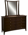 Aspenhome Youth Dresser and Mirror Kensington ASIKJ-553-62