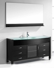 Ava 61in Single Bathroom Set in Espresso by Virtu USA VU-MS-5061-G-ES