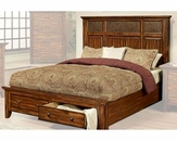 Ayca Bed in Cherry Finish Marissa Country AY-21-02Bed