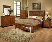 Ayca Bedroom Set in Cherry Finish Marissa Country AY-21-02Set