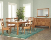 Ayca Dining Set Cottage Cherry AY-8200Set