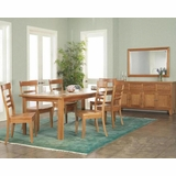 Ayca Dining Set Cottage Cherry AY 8200Set