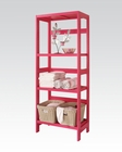Bathroom Rack in Red by Acme AC92097