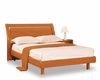 Bed Elma in High Gloss Cherry Finish 35B12