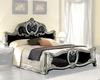 Bed Silver Baroque Classic Style Made in Italy 33B442