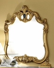 Bedroom Mirror Black Baroque Classic Style Made in Italy 33B436