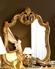 Bedroom Mirror Gold Baroque Classic Style Made in Italy 33B426