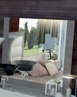 Two Tone Bedroom Mirror Mangano in Modern Style 33180MN