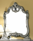 Bedroom Mirror Silver Baroque Classic Style Made in Italy 33B446