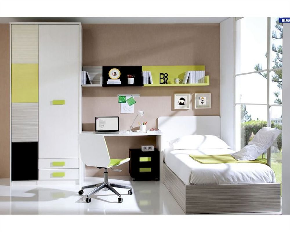 Bedroom set in contemporary style european design made in for Bedroom furniture spain