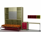 Bedroom Set w/ Horisontal Folding Bed 33JB51