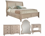 Bedroom Set w/ Sleigh Bed Sutton's Bay by Hekman HE-14168-SET