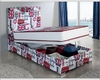 Bedroom Set w/ Storage Bed Made in Spain 701C London 33131LN