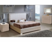 Bedroom Set w/ Storage Bed Made in Spain Trenzado 33131TE