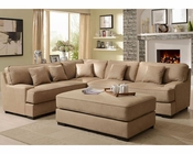 Beige Sectional Sofa Set Minnis by Homelegance EL-9759NF-SET