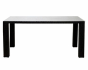 Bella Outdoor Dining Table in Espresso White by Modway MY-EEI601EXPWHI