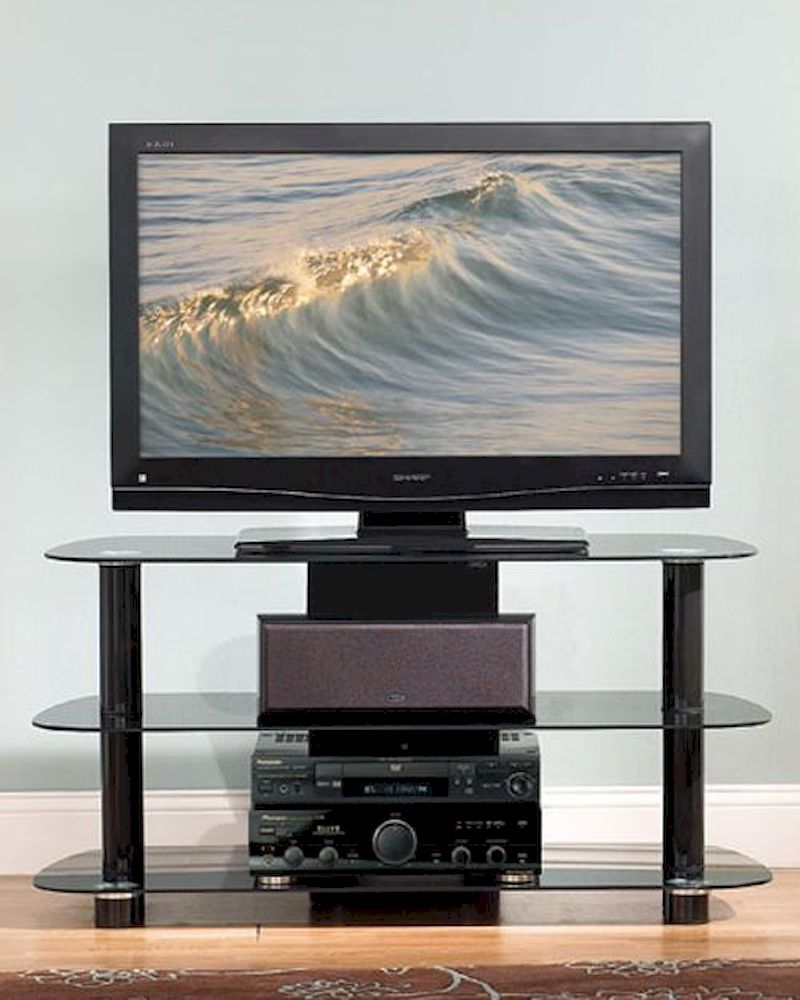 Bello Contemporary Glass Tv Stand Be Pvs 4215hg