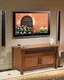 Bello - Wood Caramel Brown TV Stand BE-WAVS-326