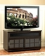 Bello - Wood Deep Brown TV Stand BE-WAVS-333