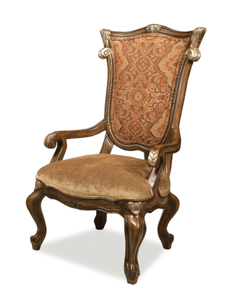 Benetti 39 s arm chair in traditional style abrianna btab017 for Traditional furniture
