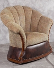 Benetti's Italia Vischelle Swivel Accent Chair BTVI154