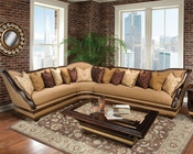 Benetti's Reversible Sectional Beladonna BTBE049