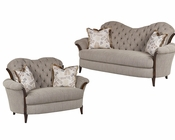 Benetti's Sofa Set in Fabric Elena BTEL145SET