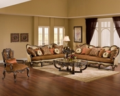 Benetti's Sofa Set in Traditional Style Abrianna BTAB014SET