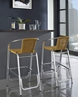 Bistro Indoor-Outdoor Bar Stool in Natural by Modway MY-EEI852NAT