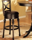 Black Finish Bar Stool CO-100279