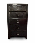 Black Five-Drawer Chest 44B211CH