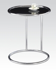 Black Glass Side Table by Acme Furniture AC81560
