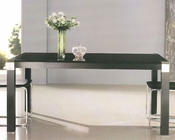 Black Glass Top Dining Table OL-DT02