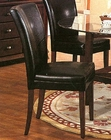 Black Parson Dining Chair CO-4077BLK (Set of 2)