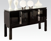 Black Server Prisca by Acme Furniture AC70989