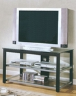 Black & Silver TV Stand CO-700612
