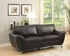Black Sofa Chaska by Homelegance EL-8523BLK-3