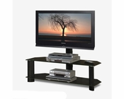 Black TV Stand Tech Craft TC-TRK50B