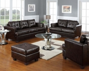 Bonded Leather Sofa Set Platinum by Acme Furniture AC15070B-SET